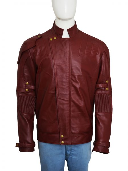 Star Lord Galaxy 2 Chris Pratt leather Jacket