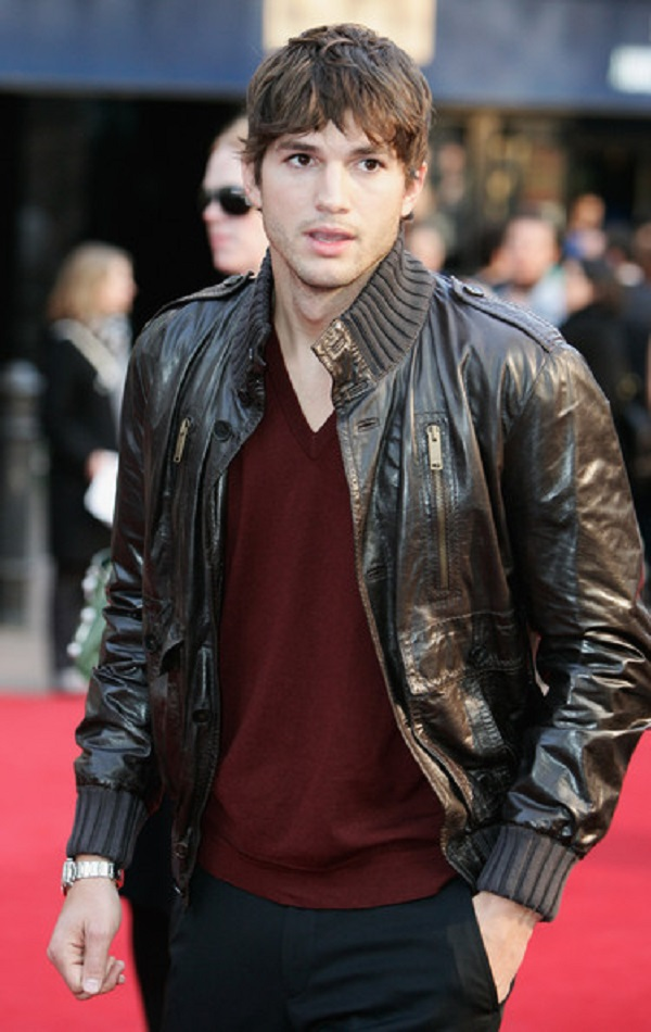 Ashton-Kutcher-Leather-Jacket