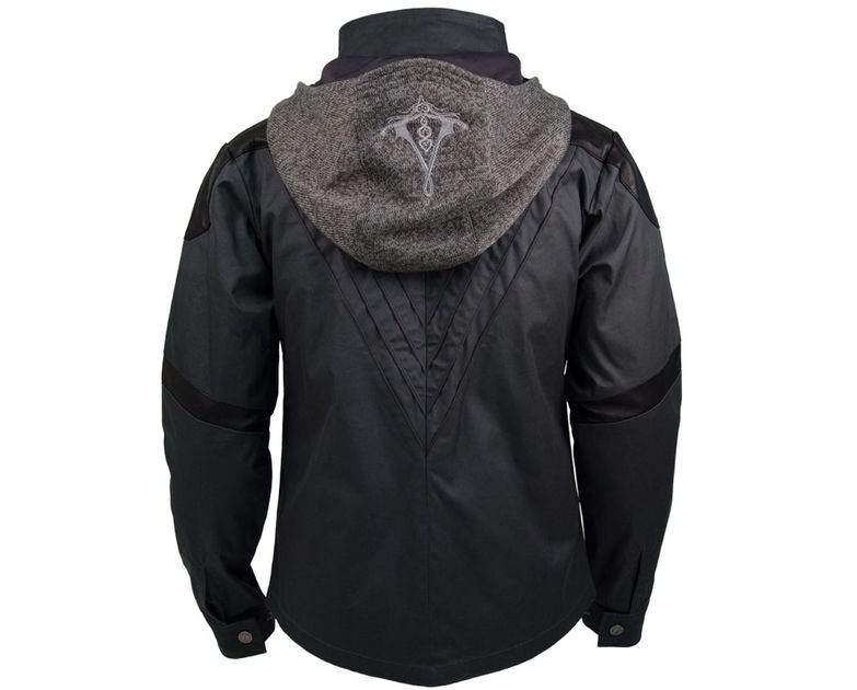 Assassin's Creed black leather jacket
