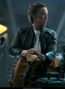 Lost in Space Molly Parker Black Jacket