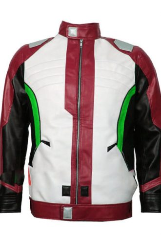 Soldier-76-Leather-Jacket-Maroon-front