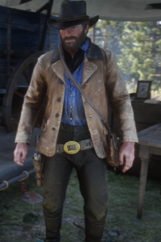 Michael Unsworth Video Game Red Dead Redemption 2 Jacket
