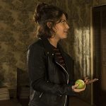 Paige Spara The Good Doctor Black Leather Jacket