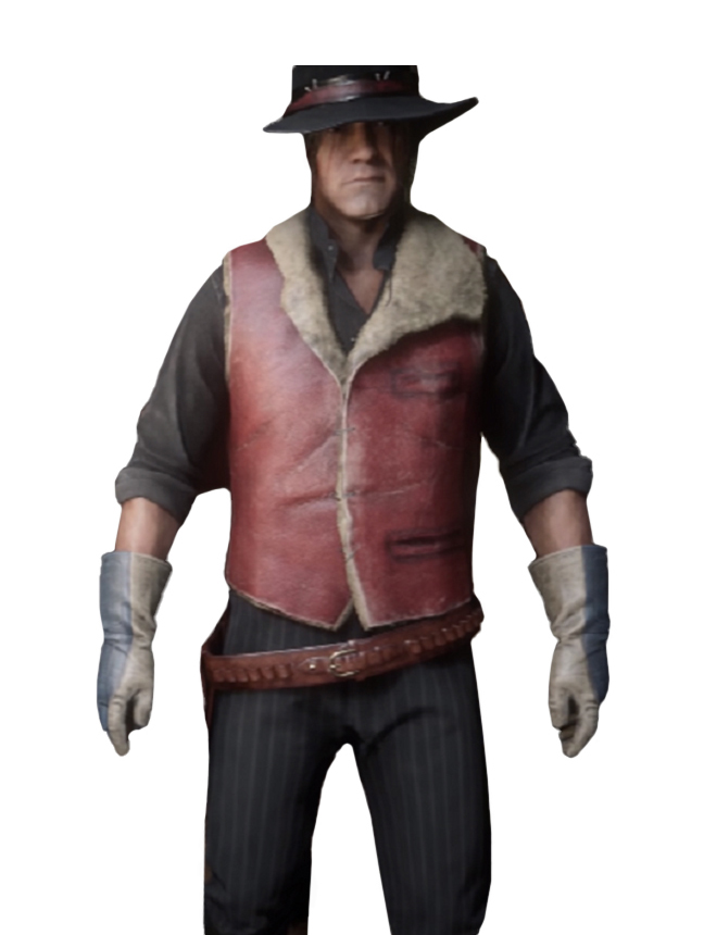Charles Smith Red Dead Redemption 2 Vest