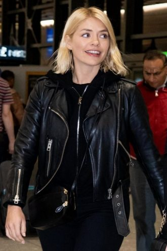 Holly Willoughby Leather Jacket