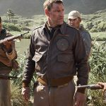 Midway Aaron Eckhart Brown Leather Jacket
