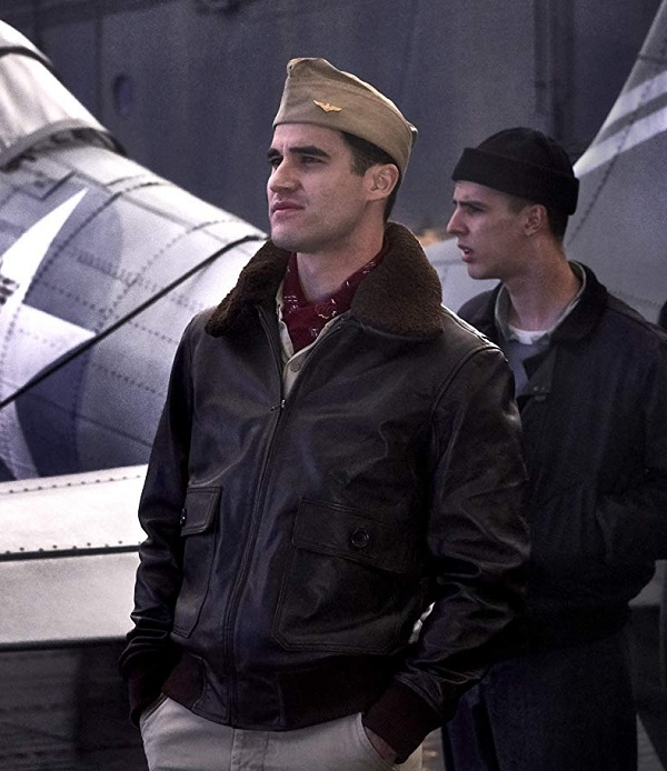 Midway Darren Criss Leather Jacket