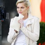Singer Sophie Monk leather jacket getmyleather famous online store usa