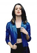 Laura Marano The Perfect Date Blue Jacket