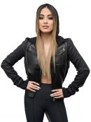 Ally Brooke Black Jacket In Music Choice Event