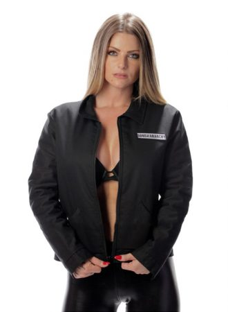 Sons of Anarchy Women's Adult Mechanic Jacket