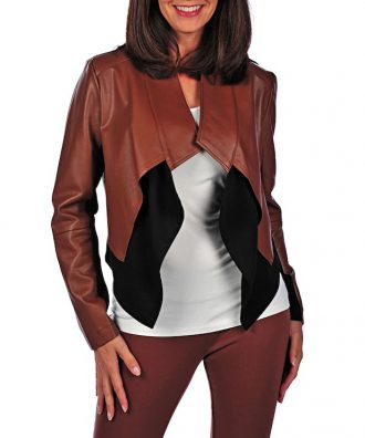 Incredibly modern and impeccably executed, this faux leather cascade jacket from the G by Giuliana Rancic Collection is a must-have for every wardrobe. The faux leather/knit combination allows this piece to offer a fabulous fit, while also keeping it highly affordable. Just don't be alarmed if you find this jacket disappearing from your closet on a regular basis. Chances are, your daughter might have discovered just how fashionable this piece is too.