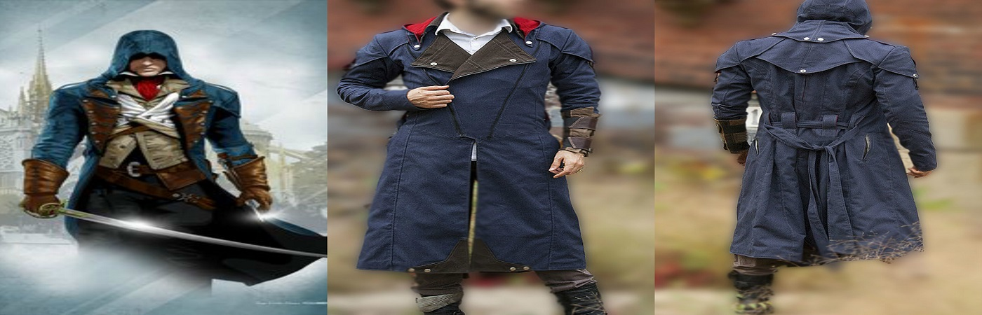 Assassins Creed Unity Coat Outfits Archives Getmyleather A