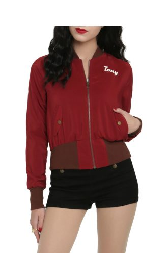 Marvel Girls Stark Industries Bomber Jacket