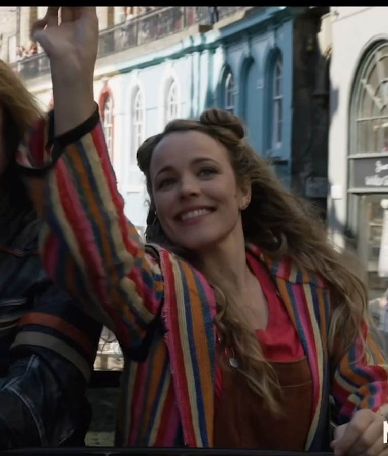 Eurovision Song Contest Rachel McAdams Wool Jacket